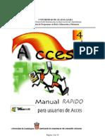 Manual rápido para usuarios de Access