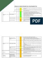 avaliação de riscos oficinas de mecânica