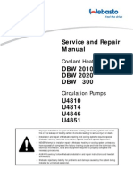 Webasto Dbw2010 2020 300 Repair