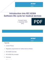 Intro to IEC62304 - Software Life Cycle for Medical Devices