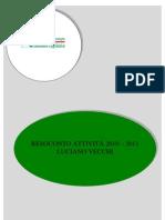 Rendiconto 2010-2011 Luciano Vecchi
