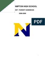 2008-2009 Student Parent Handbook