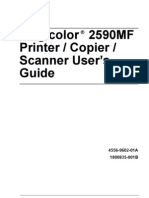 Magicolor2590MFCopier Printer Scanner User Manual