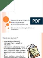 SLD Presentation -Surveys