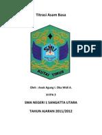 Laporan Praktikum Kim_ Titrasi Asam-Basa