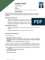 Resume - Shaukh
