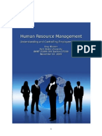 2009 - Understanding and Controlling Employee Turnover
