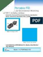 Portable FID