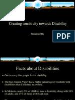 Disability Awareness Sensitivity