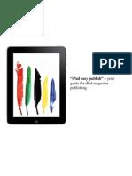 iPad Easy Publish