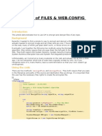 Encryption of Files and Web.config