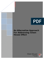 An Alternative Approach for Addressing Green House Effect.