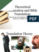 Translation Theory