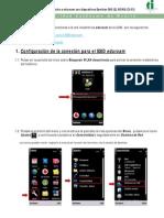 Conexiýn red inalambria con Symbian (Nokia)