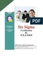 Six Sigma Prospectus