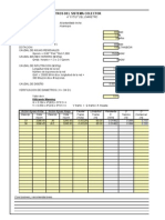Verificacion de diseño de desagues