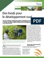 Focus sur le développement durable (Aficar )