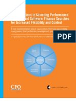 CFO Best Practices White Paper