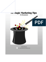 10 Magic Marketing Tips for Restaurants