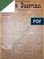 Gazeta Bucovinei #59 Joi 27 Iulie (8 August) 1895