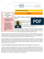 Weekly Briefing 22-29 February 2012 # 113