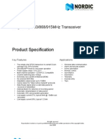 Product Specification nRF905 v1.5