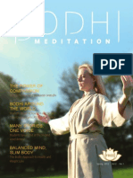 BODHI MEDITATION ENGLISH MAGAZINE Spring 2012.Vol.2 No.1