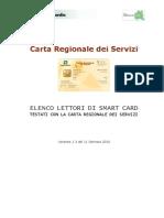 11 01 2010 Lettori Smart Card Testati Con CRS