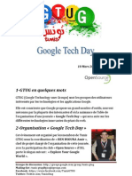 Programme Google Tech Day