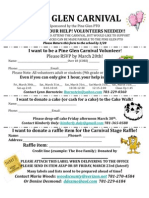 Carnival Volunteer Form 2012