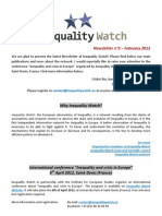 Inequality Watch Newsletter