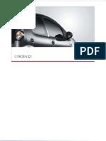 Handboek Citroen C1 2010NL