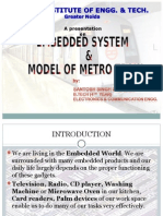Embedded Systems and model of metro train