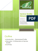 DRIVE Service Quality 10D