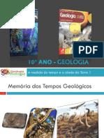 Apresentação Nr. 4 - Memória Dos Tempos Geológicos