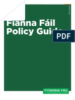 FF Policy Guide Spring 2012
