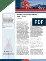 When Russian Eurasianism Meets Turkey's Eurasia
