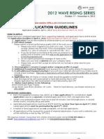 2012 WRS Application 2.20.12