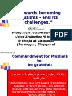 """Being Muslims & its challenges"" 1 Scribd]"