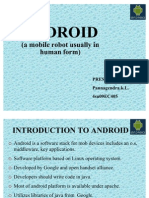 ANDROID Presentation Me