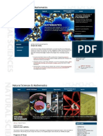 Natural Sciences Website 2010