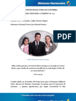 Informe Misionero a Febrero Manizales C.