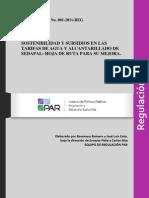 Informe Par No 1 Sobre Servicio de Agua 2010