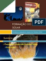 Planetas e Pequenos Corpos Dos Sistema Solar (Pequenos Corpos Do Sistema Solar)