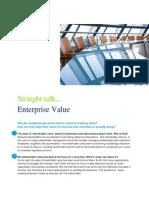 Straight Talk About Enterprise Value Final