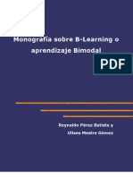 Monografía sobre B-Learning o