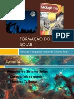 Planetas e Pequenos Corpos Dos Sistema Solar (Planetas ricos