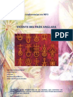 VICENTE BELTRÁN ANGLADA - Conferencias