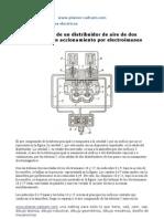 722 Mecanismo Distribuidor Aire Dos Posiciones Accionamiento Electroimanes