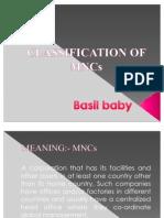 Classification of Mnc